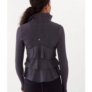 Lululemon Ruffled Back Yogi Dance Jacket